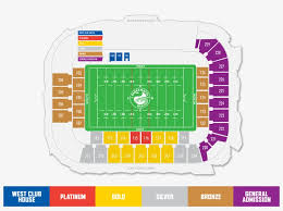 Bankwest Stadium Western Sydney Stadium Seating Plan