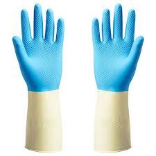 Купить ПОТКЕС <b>Резиновые перчатки</b>, синий по выгодной цене ...