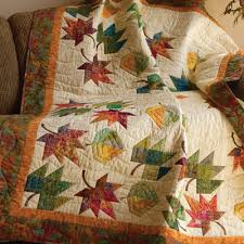 10 Favorite Quilts for Fall and Halloween - The Quilting Company & As summer wanes and the kids head back to school, it's time to look ahead  to fall quilting projects! That means rich autumn hues; leaves, pumpkins  and owls; ... Adamdwight.com