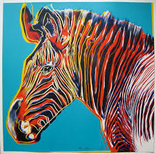 andy warhol s psychedelic endangered animals in pictures
