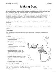 making soap old yeller 6th grade reading guided reading old yeller literature