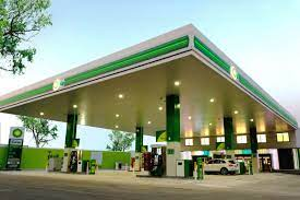 bp opens its first branded gas station