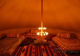 double clear tea light chandelier