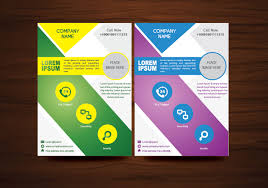 Vector Brochure Flyer Design Layout Template In A4 Size Download