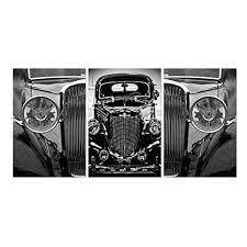 Furinno Senia <b>3</b>-<b>Panel</b> MDF Framed Photography Triptych <b>Print</b>, 42 ...