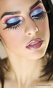 exotic makeup portrait by mikefard via flickr