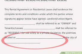 Landlord Tenant Lease Agreement Template Agreements 6 Samples ...