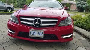 2013 Mercedes C250 Daytime Running Lights Replace Benz W204 Drl Daytime Running Lights