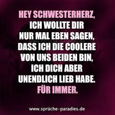 Hey Schwesterherz