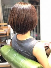 髪が多くて広がる髪質でもまとまるグラデーションボブ Belead Ebisu