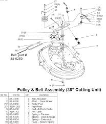 toro wheel horse 14 38 wiring diagram toro diy wiring diagrams toro 14 38 hxl new belt poor tension