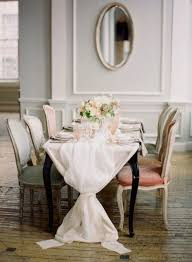 dining room table linens. dining room table linens make a cloth or runner out of cheese loosely gathered