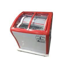 voltas 210 l glass door deep freezer electric