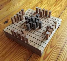 Wooden Strategy Games King's Table Game Hnefatafl Board Viking Rules httpwww 16