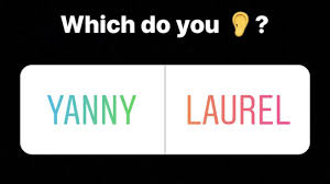 yanny or laurel why people hear diffe words