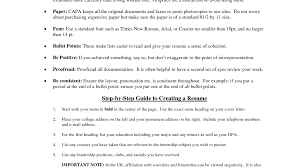 Resume Modern How Long Should Resume Bullet Points Be Notable