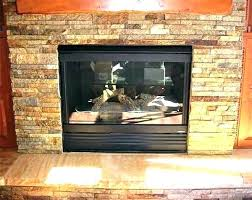 cleaning soot off brick fireplace hearth interior clean how to from glass doors paint