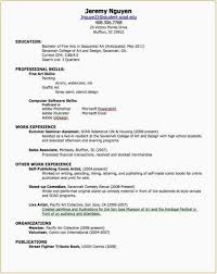 High School Student Resume With No Work Experience First Job Resume