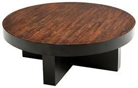round reclaimed wood coffee table rustic modern round wooden coffee tables end tables for living room