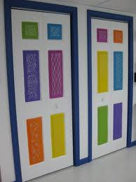 Painted closet doors Creative Your Builder Painted Your Closet Doors Karens Company Closet Doors