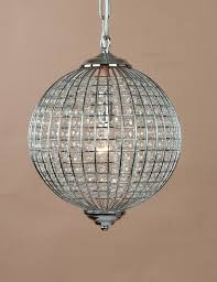 kitchen appealing round glass chandelier 15 chrome and beaded globe ball shape chandeliers ny showroom downtown