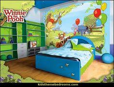 Rabbit In Party Hat Rocking Chair Log Fire Twig Frame Mural   Winnie The  Pooh Mural   Pinterest   Log Fires, Playroom Mural And Playrooms