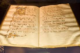 ancient hymn book stock image image of page handmade