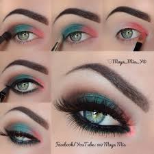 makeup tutorial and eyes image