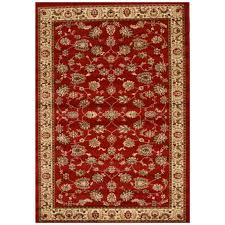 affordable traditional persian design allover pattern red floor area rugs hall runners
