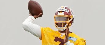Washington Redskins Qb Depth Chart Dwayne Haskins Listed As 3rd String Quarterback On First