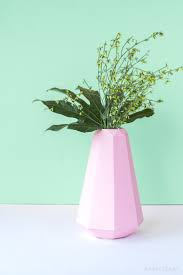 Flower Vase With Paper How To Make A Paper Flower Vase Sleeve Very Easy With Free Template