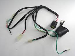 complete wiring harness wire loom for lifan 150cc engine dirt pit image is loading complete wiring harness wire loom for lifan 150cc