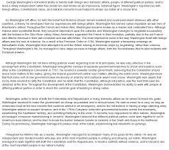 policy and effectiveness of george washington at com essay on policy and effectiveness of george washington