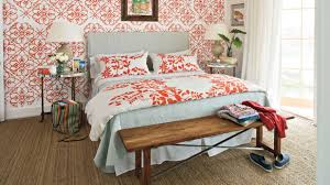 Beach Inspired Bedding Colorful Beach Bedroom Decorating Ideas Southern Living