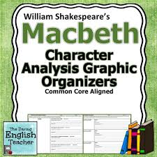 best macbeth images english teachers teaching macbeth character analysis graphic organizers william shakespeare