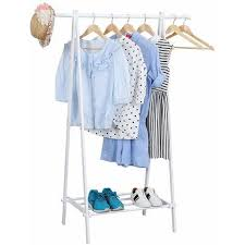 How High To Hang A Coat Rack Simple Triangle Hanging Rail Single Garment Rack Clothes Rail Coat Hanger