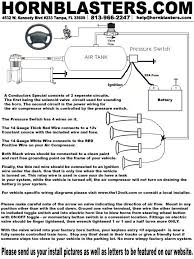 viair pressure switch wiring viair image wiring instruction diagrams for installing our train horns on trucks on viair pressure switch wiring