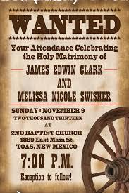 Rustic Wedding Invitation Wording Samples Rustic Western Wedding