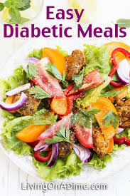 diabetes food menus healthier with these easy diabetic meals
