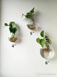 fresh hanging glass planter of 3 discoid wall vase plant terrarium indoor for home decoration house
