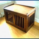 dog crate furniture bench Archives