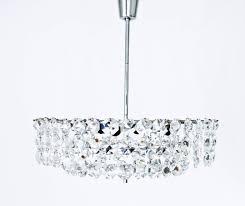 mid century modern impressive crystal chandelier by bakalowits sons austria vienna 1960s for
