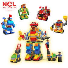 Đồ chơi xếp hình trẻ em Nhựa Chợ Lớn 356 - M1759-LR