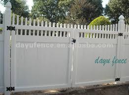 Vinyl Fence Driveway Gates Spectacular VINYL FENCE GATE FENCES
