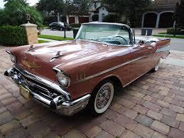 1957 Chevy BelAir Custom Convertible - YouTube