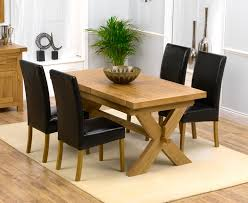 41 oak extending dining table sets bellano solid with regard to room idea 16