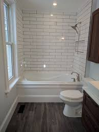 simple bathroom. Perfect Bathroom Simple Bathroom For Attic Dark Floors White Subway Tile Soft Neutral  Walls Vanity With Brass Or Copper Fixtures By  Kristen On Bathroom