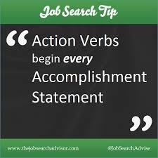 Active Verbs For Resume Artemushka Com