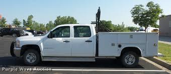 2009 Chevrolet Silverado 2500HD Crew Cab utility bed pickup ...