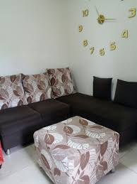 Image Portiere Carousell Chocolate Brown Lshape Sofa On Carousell